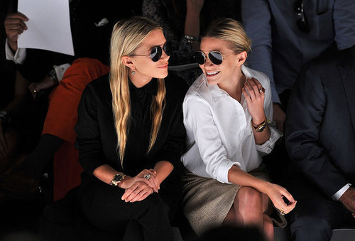 Mary-Kate et Ashley Olsen avec des Ray-Ban Aviator